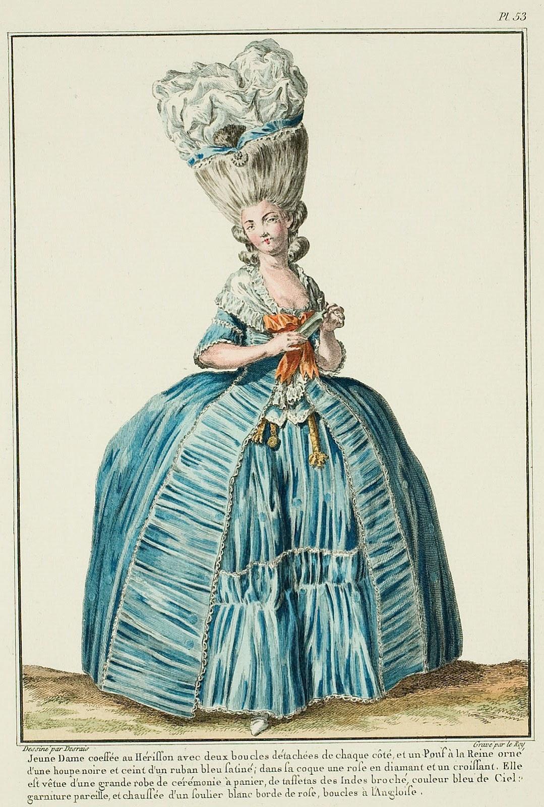 Мода 18 века франция фото