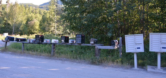 Matsu Valley letter boxes
