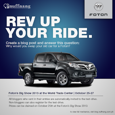 Rev Up Your Ride With Foton
