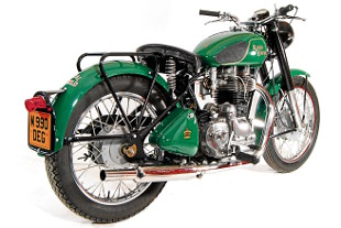 RoyalEnfields.com: Royal Enfield Bullet with rigid rear ...