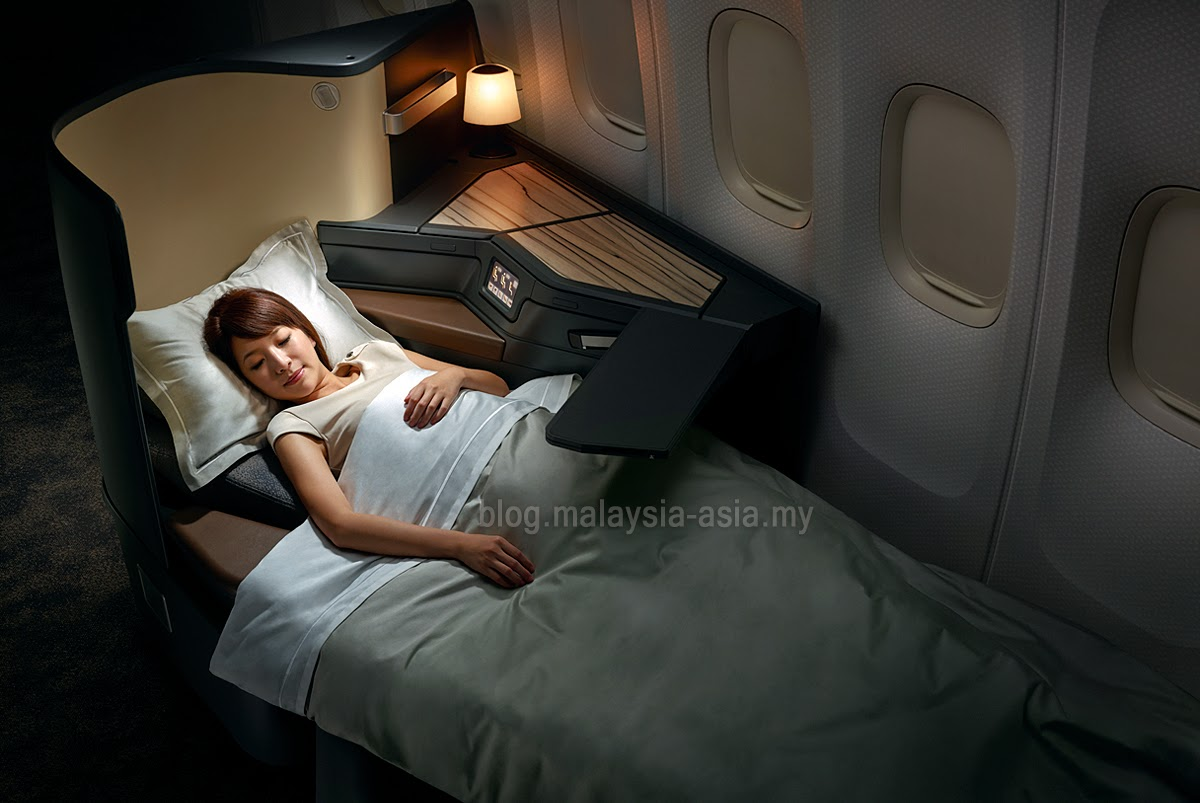 Full Flat Bed in Premium Business Class