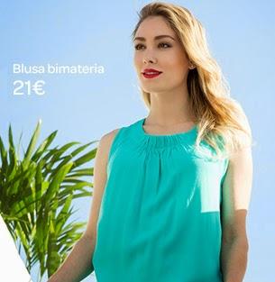 Carrefour Tex blusa primavera verano