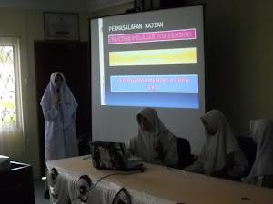 Pembentangan hasil penyelidikan pelajar Pra-U 2011