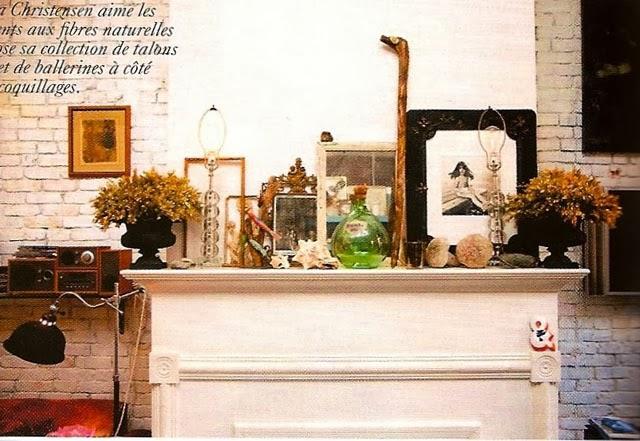 Helena Christensen chez elle