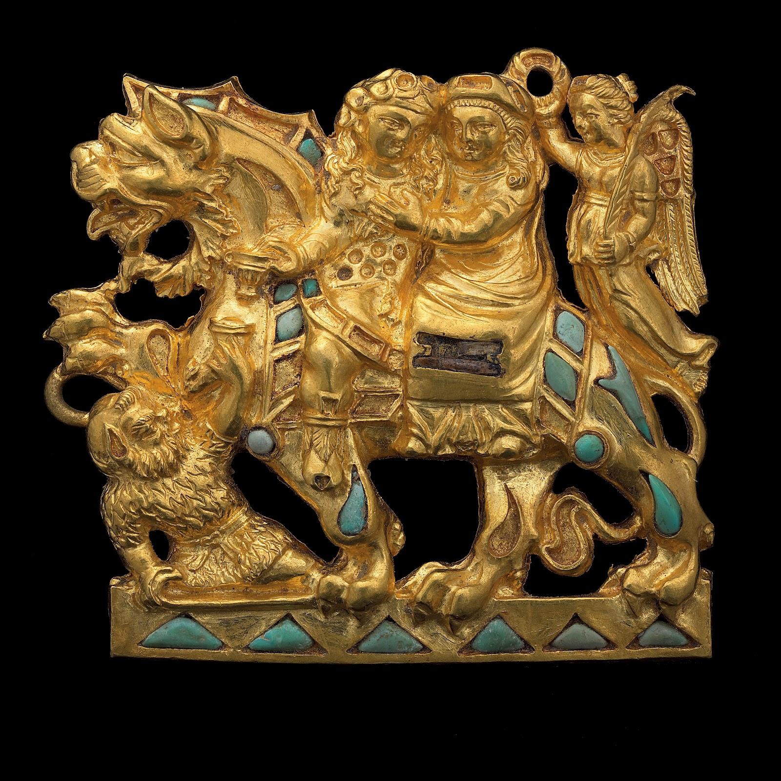 Бактрийское золото - золотые предметы, найденные в - записки.