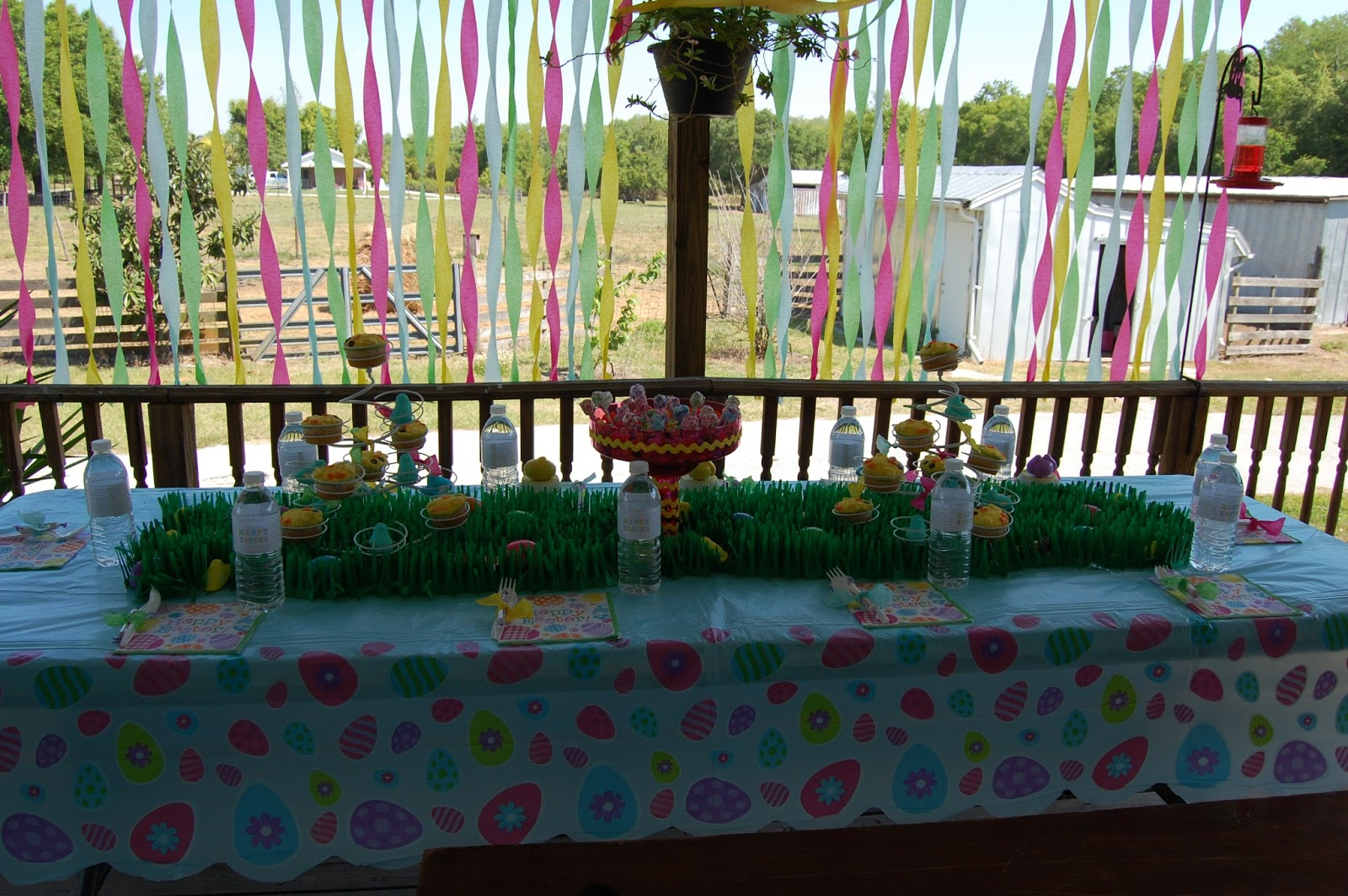 So Today I Am Sharing My Kids Easter Table Decorations