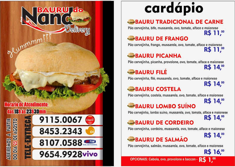 Bauru do Nando Delivery