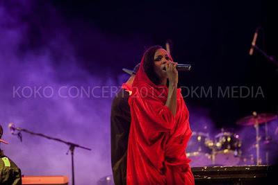 Seyi Shay Koko Concert