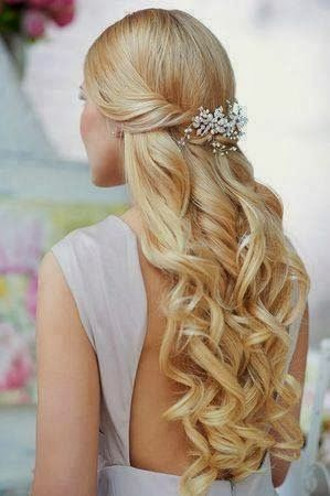 See more bridal hair style