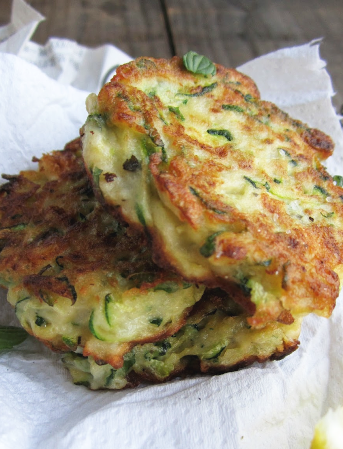 dill and fresh ricotta fritters with dill are dill and zucchini