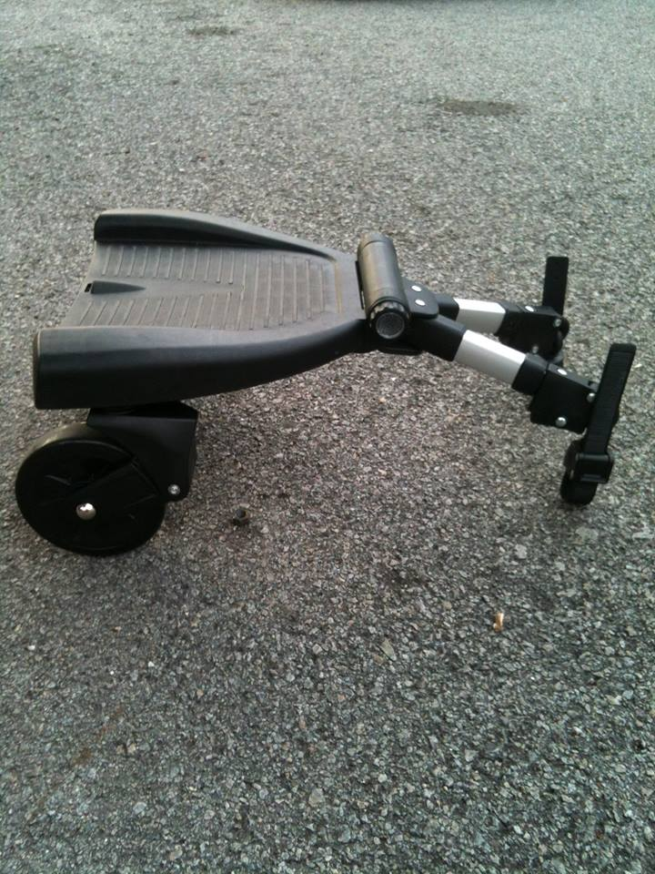how to build a stroller buggy board