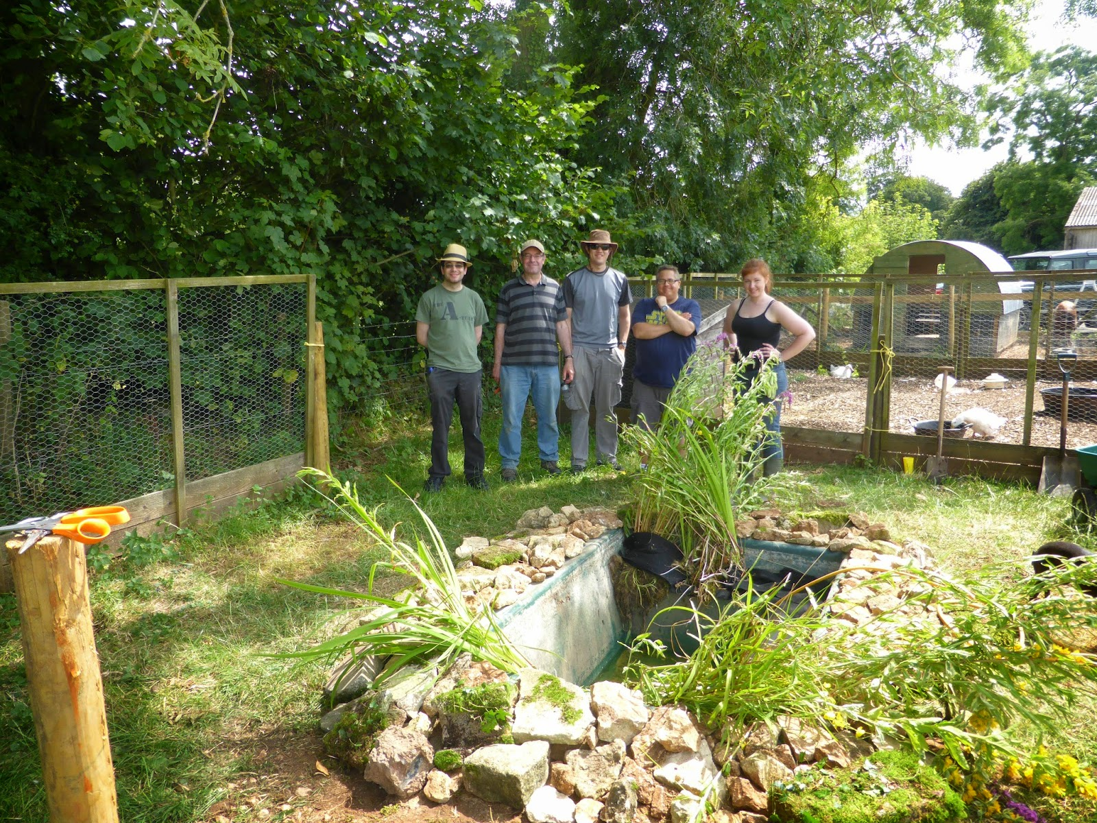 The scrubditch care farm project for Farm pond maintenance