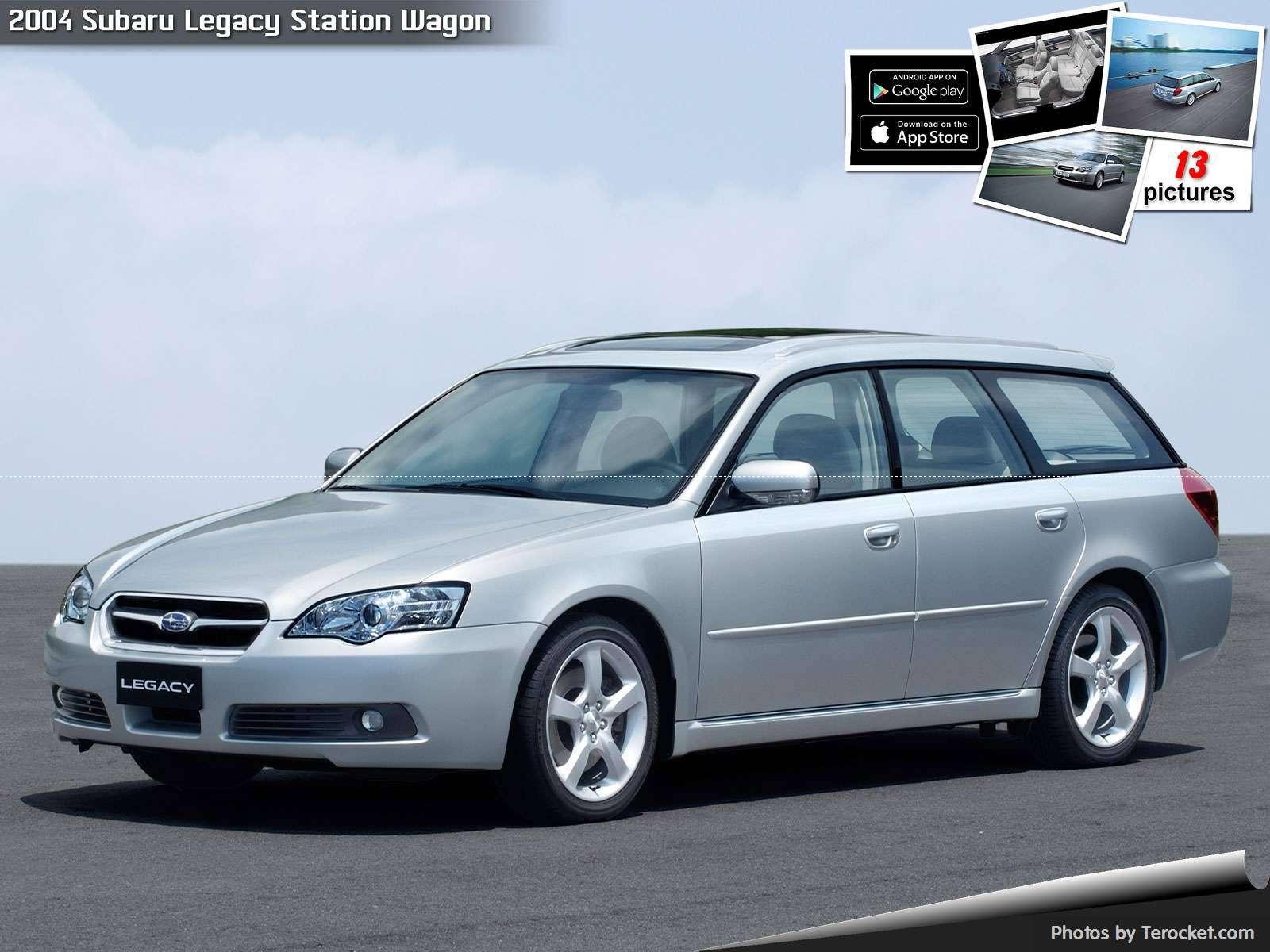 Hình ảnh xe ô tô Subaru Legacy Station Wagon 2004 & nội ngoại thất