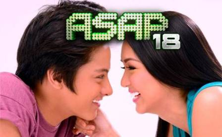 Kathryn Bernardo and Daniel Padilla on ASAP 18 (March 10)