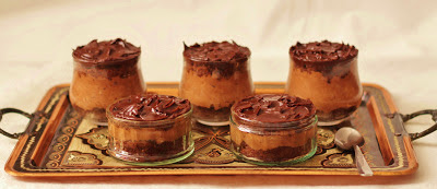 chocolate mousse cake pots
