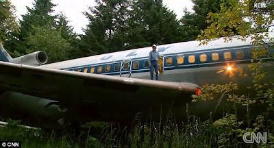 Pria Ini Berhasil Mengubah Pesawat Jet Menjadi Sebuah Rumah Unik