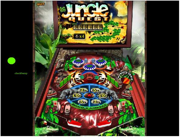 Ball Game : Jungle Quest Pinball