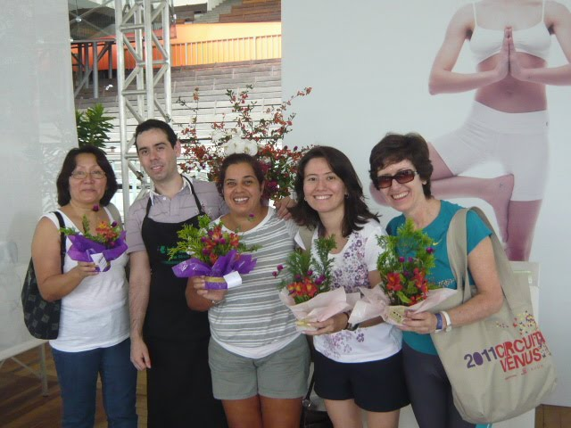 "Workshop de Ikebana "" Circuito Vênus 2011."""