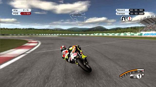 MotoGP 08 PC Games Gameplay