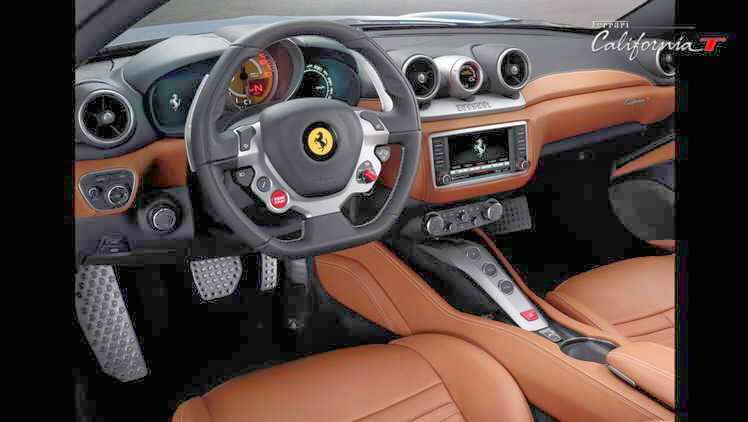 Interior Mobil Ferrari Terbaru California T