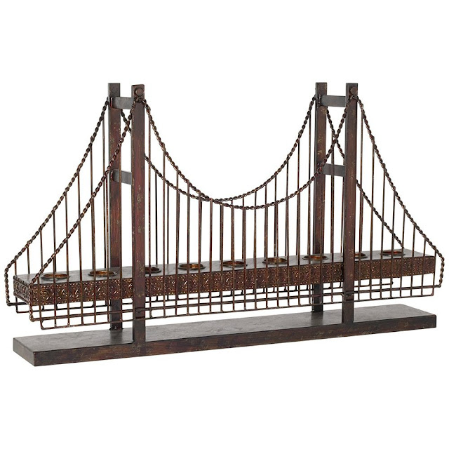 Suspension Bridge Candle Holder