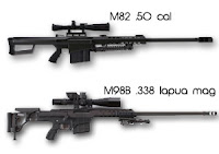 Barrett M98 sniper rifle