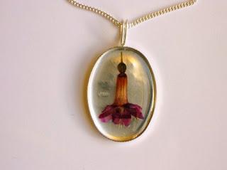 Fuchsia Flower Jewellery
