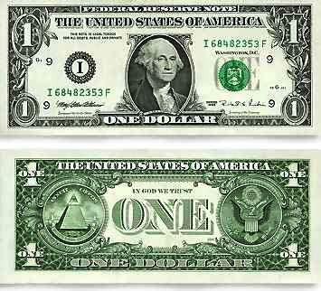 Philosophy of Science Portal: Metal vs paper...the U. S. $1 bill