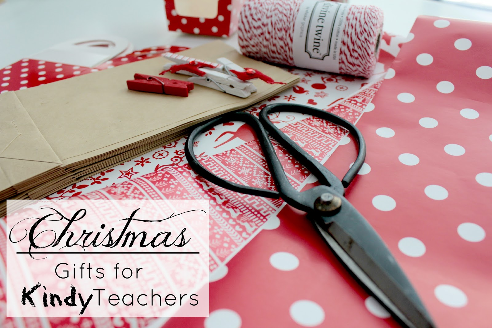 christmas gifts for kindy preschool teachers and a giveaway from emerald and ella