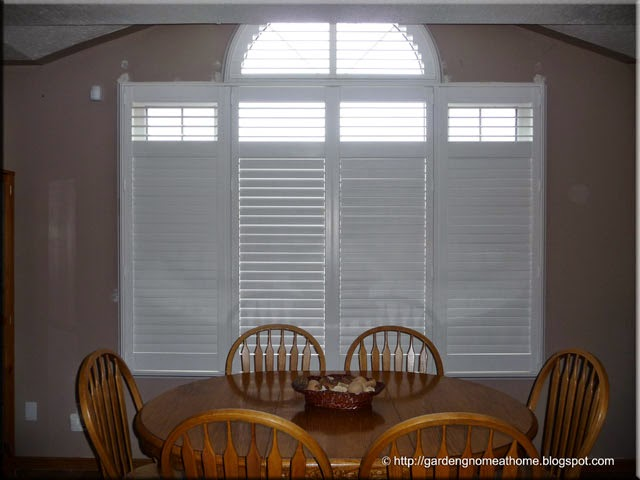 California shutters in Great Room