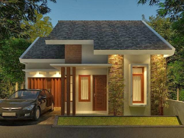 bentuk rumah mungil modern