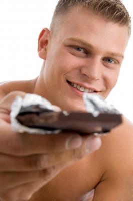 El chocolate es rico en fibra