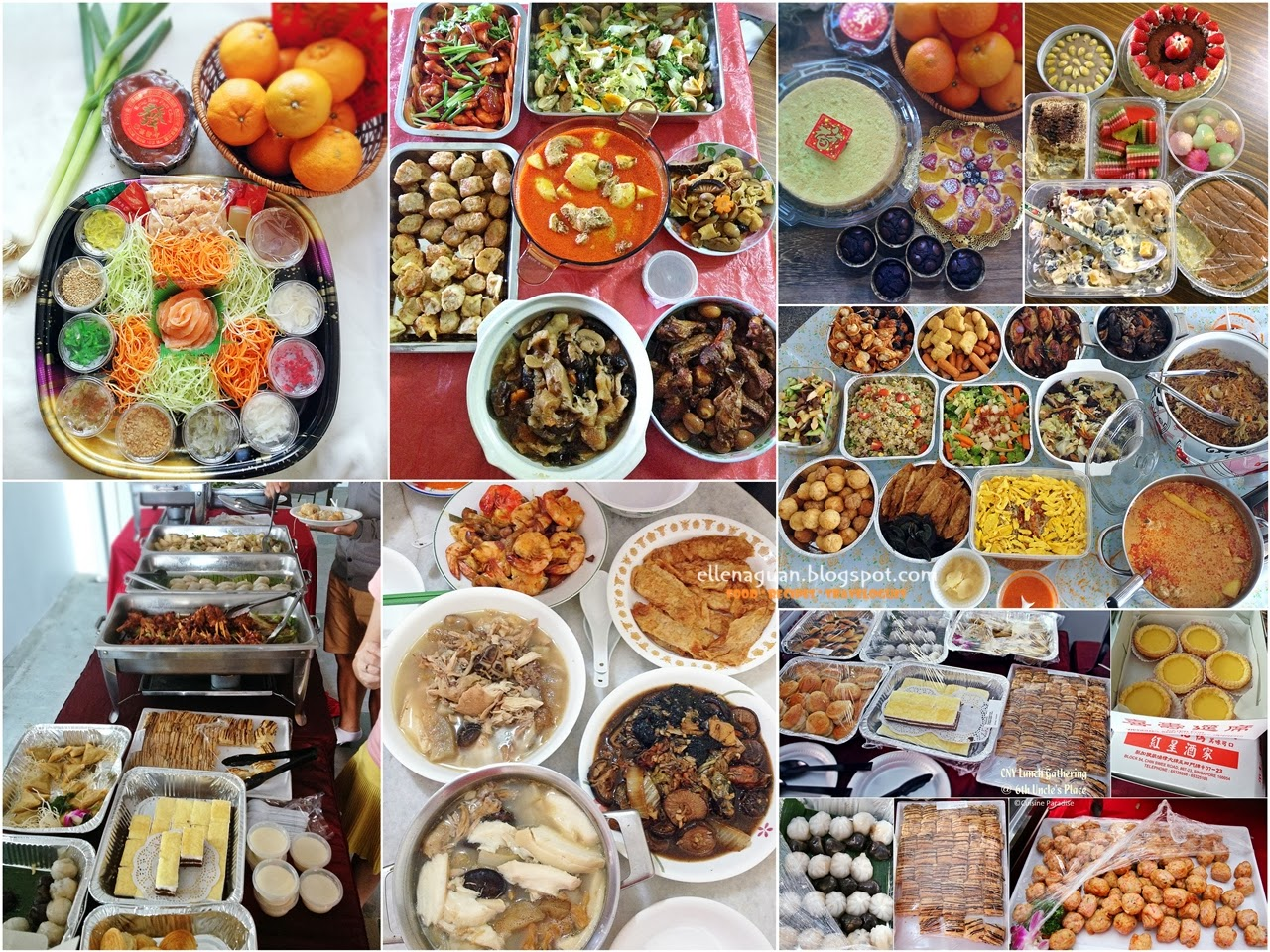 Cuisine paradise singapore food blog recipes reviews and travel 2014 chinese new year family gatherings forumfinder Choice Image