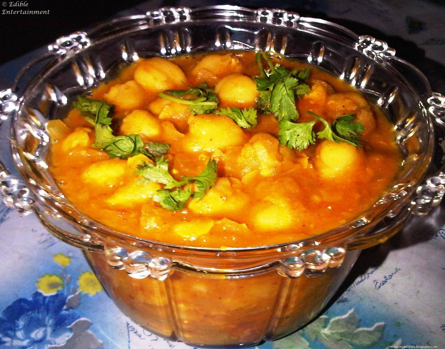 Chole Masala - Chickpea Curry Recipe — Dishmaps