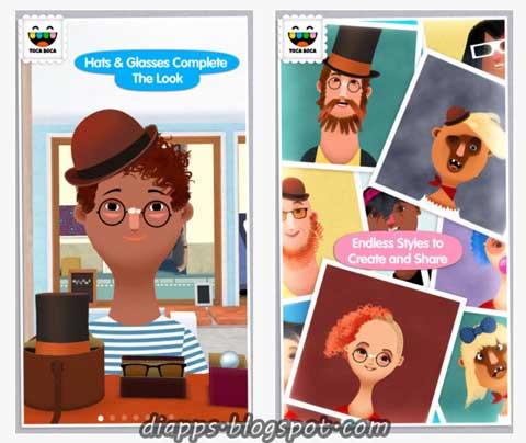 Toca hair salon 2 game ipa download free download the - Toca hair salon game ...