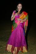 Malavika nair photos in half saree-thumbnail-3