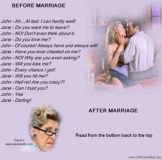Quotes About Love And Marriage Funny : funny marriage jokes funny jokes funny marriage quotes funny marriage ...