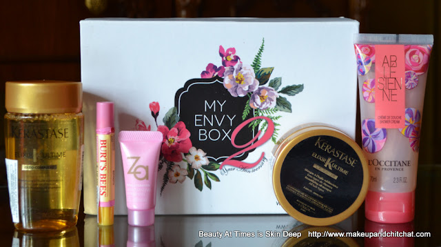 Unboxing My Envy Box of October