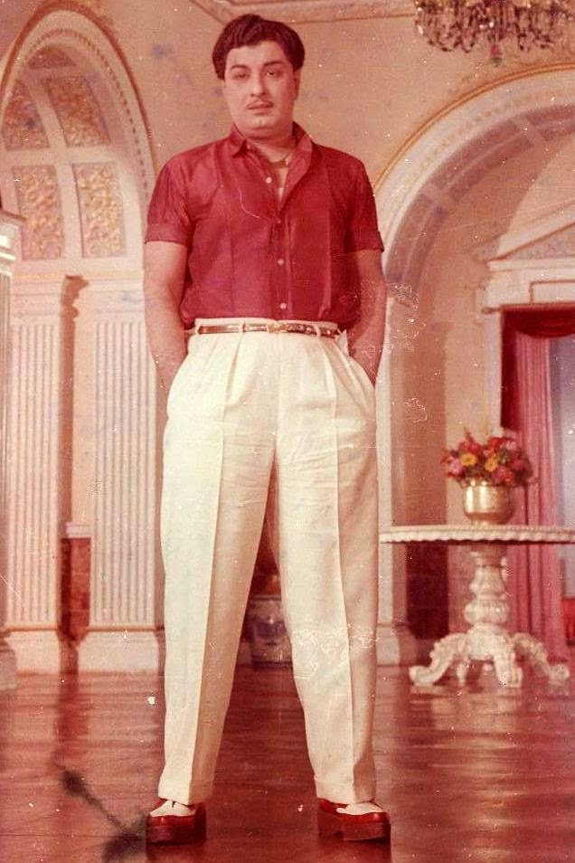 MGR in 'Engal Veetu Pillai' Movie