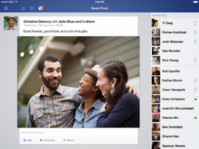 Facebook iOS7