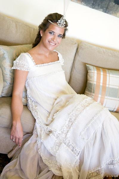 una original novia en una boda telva estilos de novia, tipos de boda