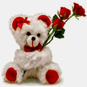 Red Rose &Teddy bear surprise Indonesia