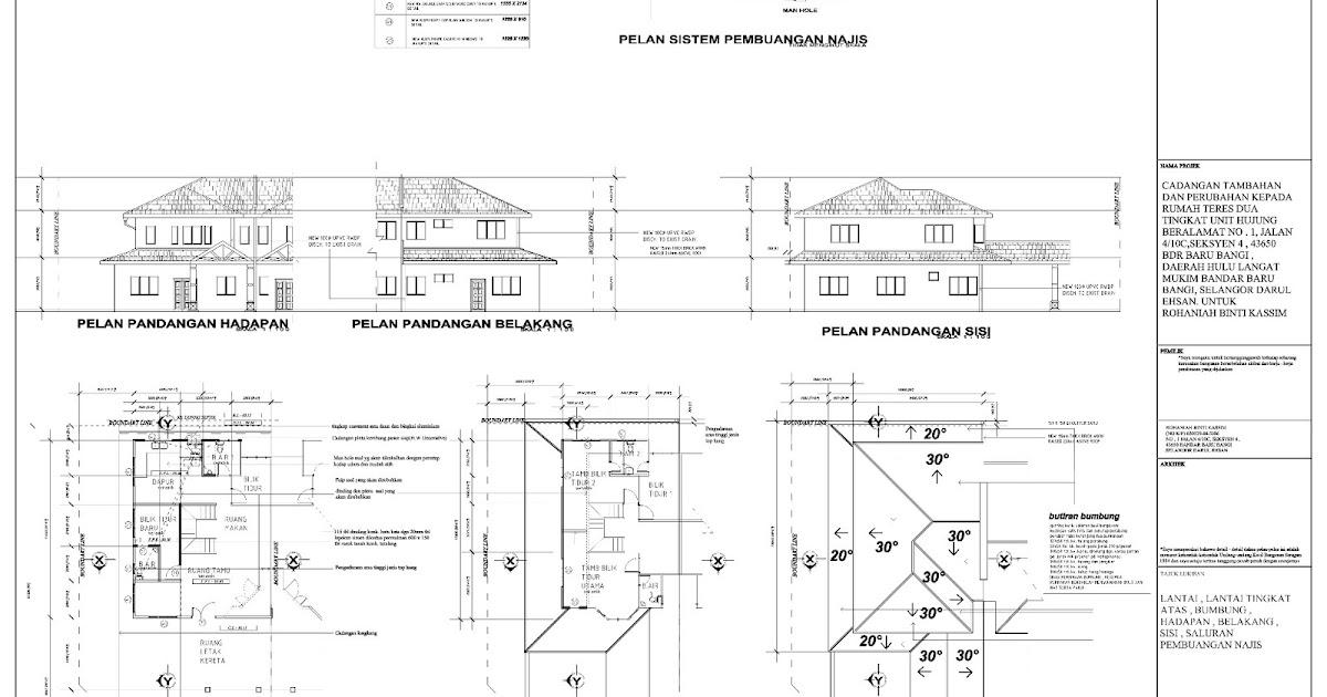 Bazoooka perkhidmatan pelukis pelan bangunan untuk for Plan arkitek
