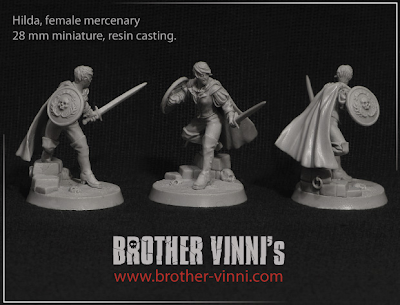 Brother Vinni's Hilda, Female Mercenary