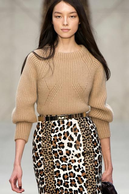 вязаный свитер 2013 Burberry Prorsum