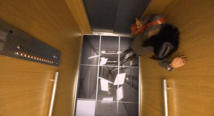 Cool funpedia the best optical illusion of the year for Elevator floor prank