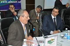 رئيسا لإحدى جلسات مؤتمر بغداد الدولى الثانى للترجمة 2012