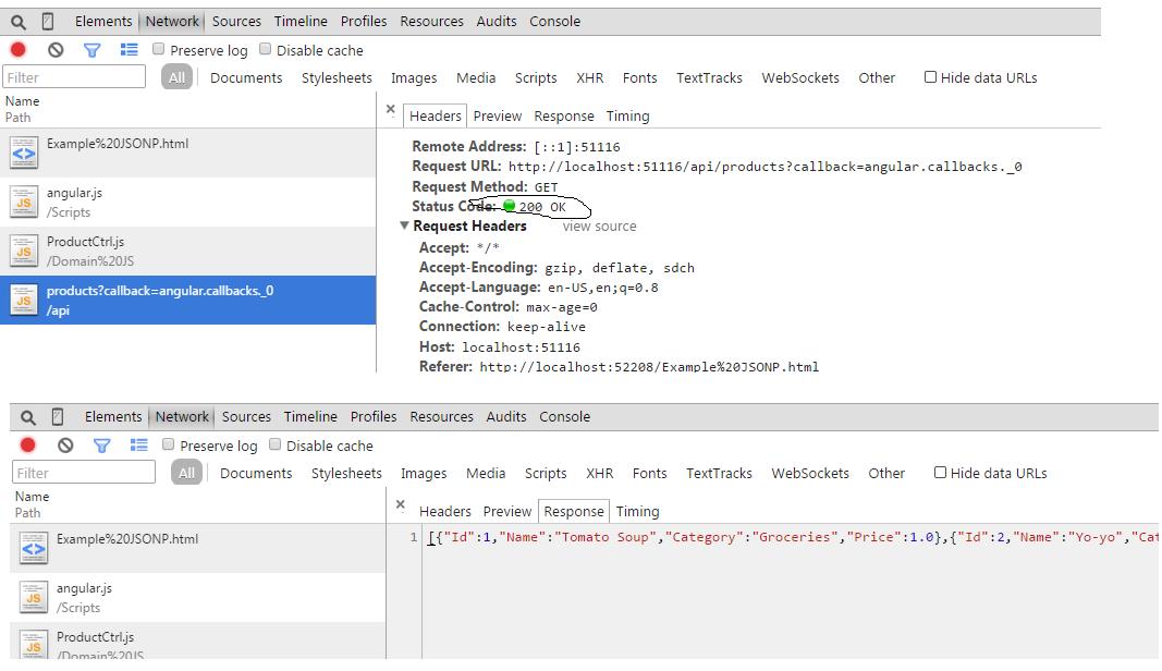 Anup Das Guptas Blog Consuming Microsoft Web Api From Angular Js