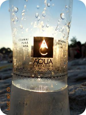 Aqua Carpatica la Psili Ammos, Thassos