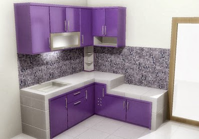 Kitchen set murah mewah nuansa jaya interior for Kitchen set mewah